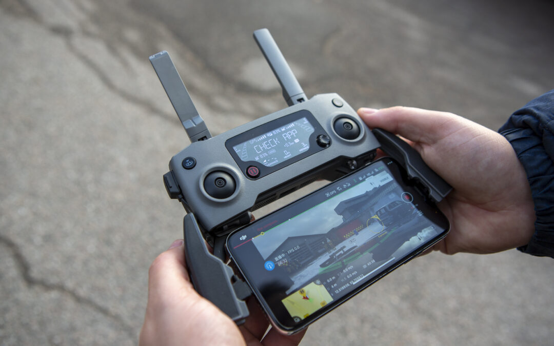 Hands-on with live streaming on the DJI Smart Controller Enterprise