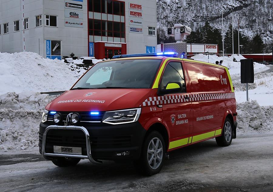 Ny innsatslederbil til Salten Brann IKS