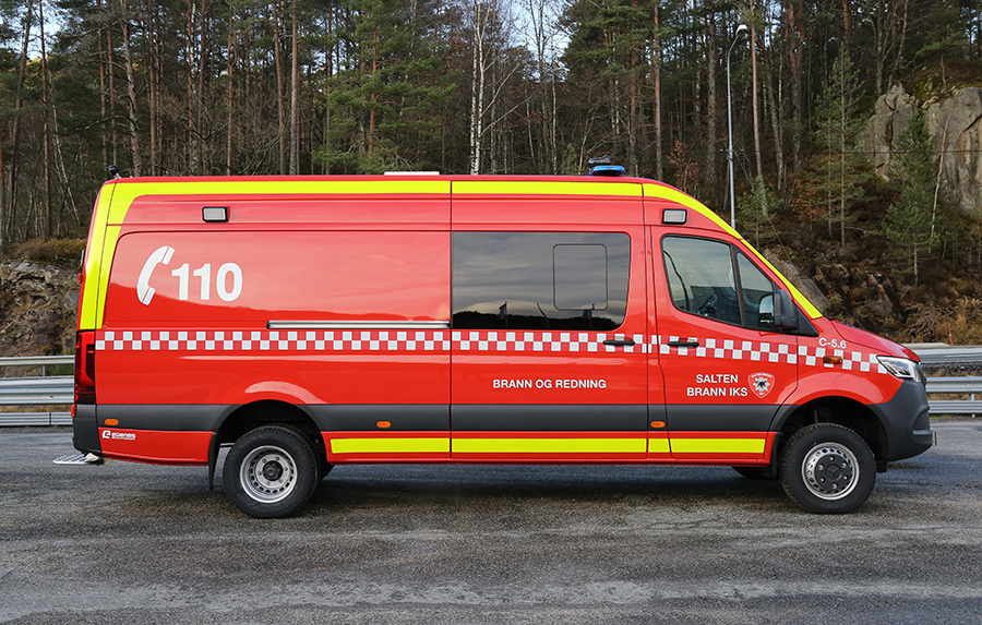 New incident support unit to Salten Brann IKS