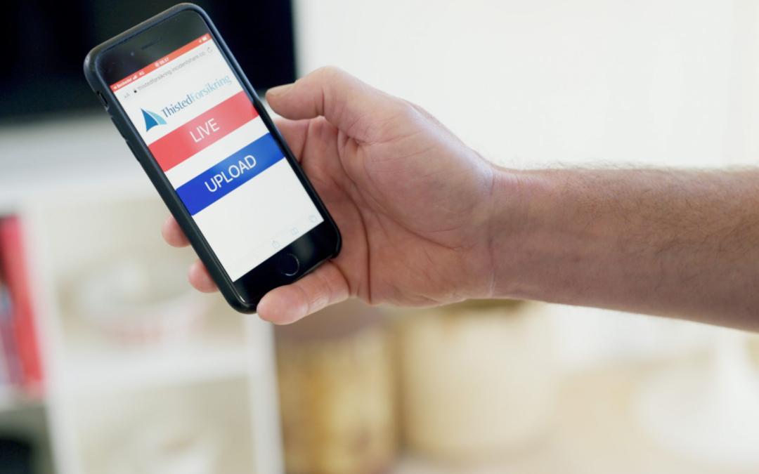 SMS-til-Video gør Thisted forsikring i stand til at lave videoopkald med deres kunder