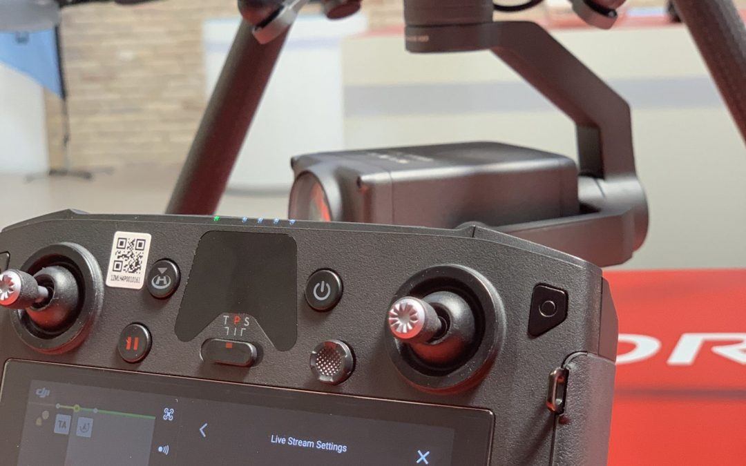 Hands-on med live streaming på DJI Smart Controller fjernkontrollen