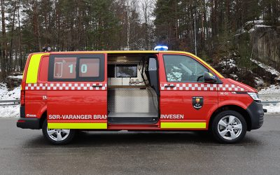 New incident command vehicle for Sør-Varanger Fire Department