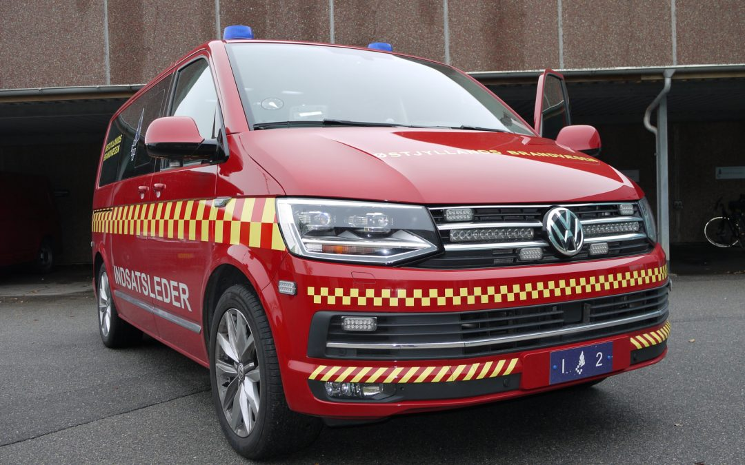 3 x incident command vehicles for Østjyllands Brandvæsen