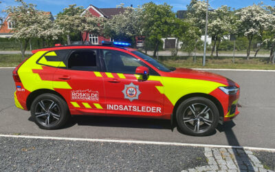 New incident command vehicle to Roskilde Fire Department