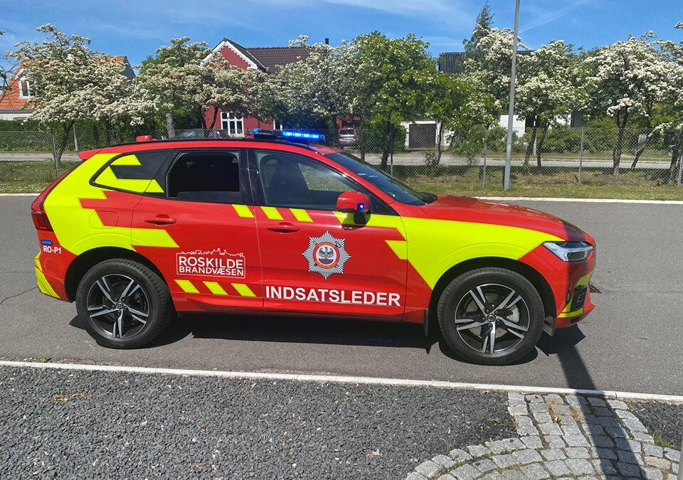 Ny indsatslederbil til Roskilde Brandvæsen